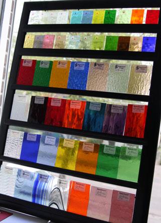 glas soorten voor glas in loodraam